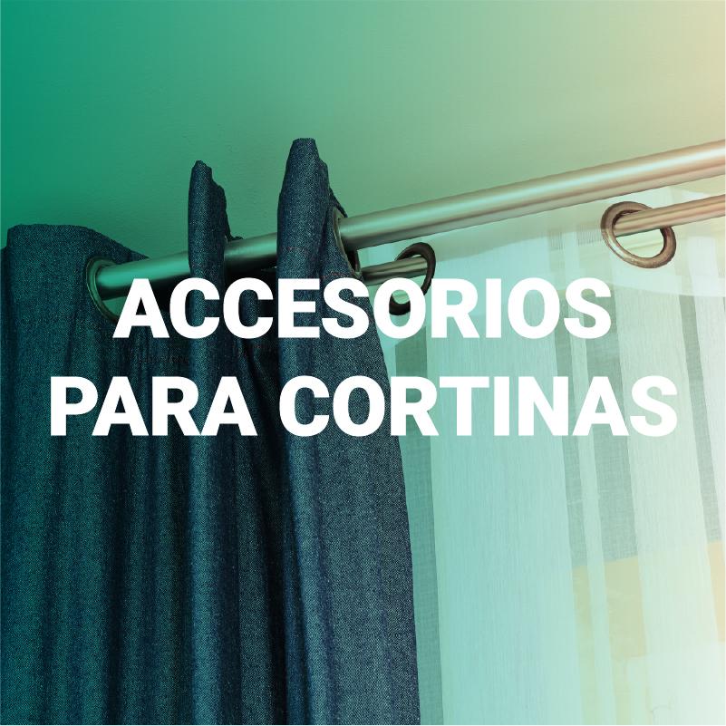 Accesorios para cortina